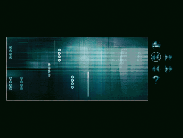 Die CD-ROM ›shiftcontrol‹ zeigt das Design und die Entwicklung eines interaktiven Musikraums. Das Grafikdesign erfolgte durch Research Studios/Arts, London, das Design und die Programmierung von AudioRom Studios u. a. mit Paul Hopton, London (www.audiorom.com; www.paulhopton.com).