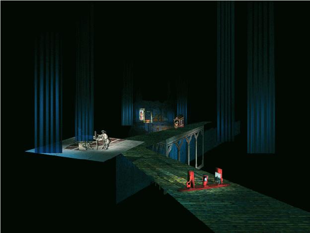 ›Perspektive und Raumdarstellung‹. Diese CD-ROM von Torsten Stapelkamp handelt von der Interpretation der Perspektive seit der Antike bis zu Virtual Reality (siehe auch Kapitel ›Interactiondesign‹).