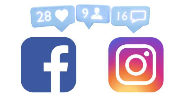 Icons für Instagram Anleitung - Facebook Anleitung - weißer Hintergrund