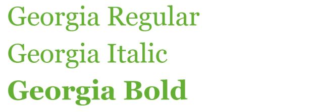 Je nach Darstellungsmedium, Hintergrund und Schriftgröße können die geeigneten Schriftschnitte gewählt werden. Dünne, kursive und schmale Schriftschnitte sind in der Regel für eine Bildschirmdarstellung ungeeignet. Die Schrift muss schon relativ groß sein, damit die Linien im Pixelraster sauber dargestellt werden können. Sind die Schnitte zu fett, kann es passieren, dass die Buchstaben ineinander verlaufen.