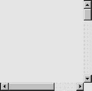 Scrollbalken. Manipulation durch Greifen und Verschieben auf einer horizontalen bzw. vertikalen Achse am Beispiel von Scrollbalken.