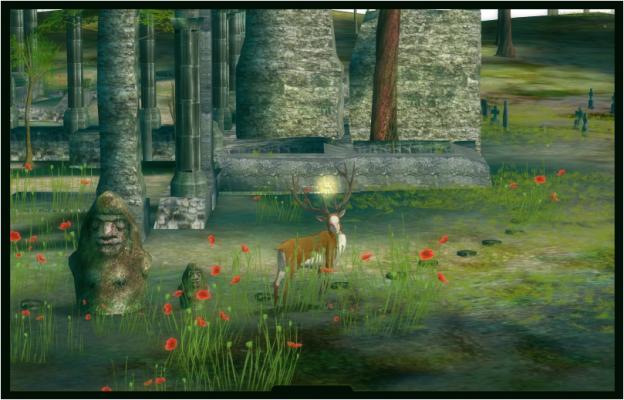 ›The Endless Forest‹ ist auch ein Forum für Aufführungen und Ausstellungen, die in die virtuelle Umgebung implementiert werden. Im September 2005 wurde z. B. eine Ruine mit den tatsächlichen Abmessungen jenes archäologischen Schauplatzes errichtet, an dem eine reale Ausstellung zusammen mit den Entwickler dieses Online-Spiels stattfand.