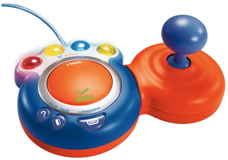 Spielzeug in den Farben Orange und Blau.