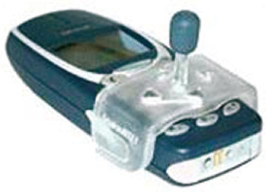Der SnakeBITE-Joystick ist für Nokia-Telefone kompatibel.
