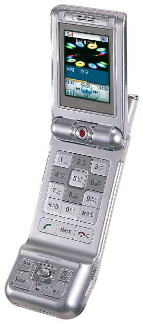 Der Joystick oder entsprechende NavigationsKeys bieten sich bei mobilen Geräten zur Steuerung an, da diese in der Regel mit dem Daumen bedient werden. Das Mobiltelefon Samsung SCH-V450 macht beide Möglichkeiten sehr gut deutlich.