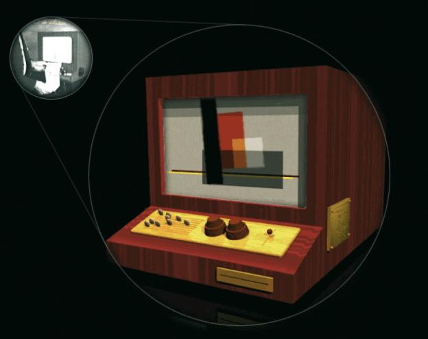 Nachbildung der Konstruktionsorgel von Làszló Moholy-Nagy als Hommage.