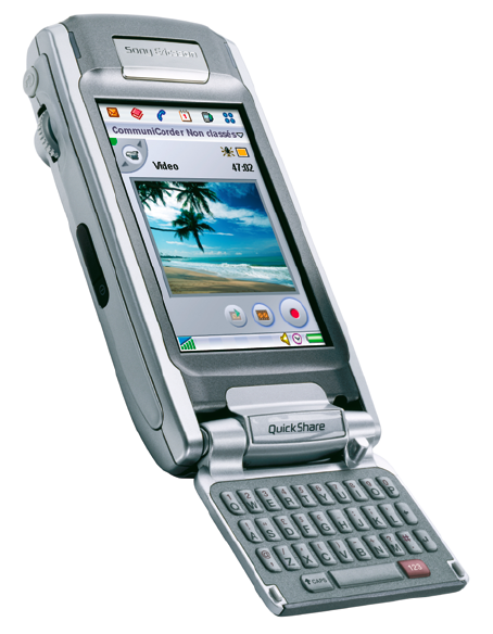 Sony Ericsson P910 (www.sonyericsson.com/P910).