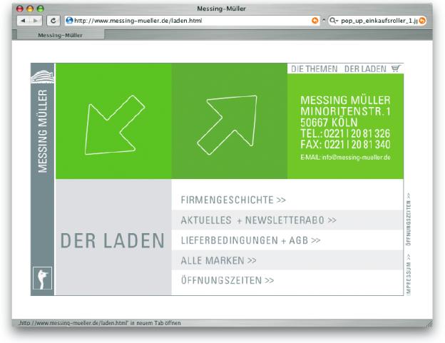 www.messing-müller.de (Design: complexx.com.).
