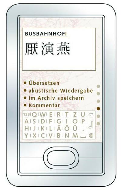 Das Screendesign der mobilen Applikation wurde auf Basis der Funktionslayouts erstellt.