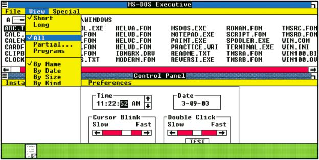 Windows 1.01, 1985