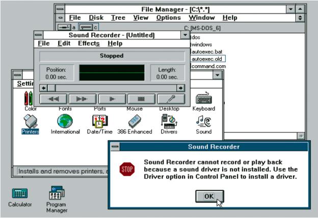 Windows 3.1, 1992