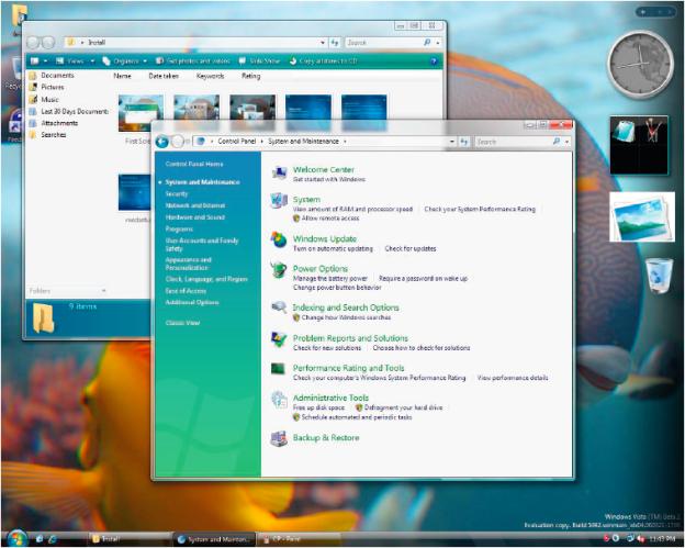 Windows Vista, 2007