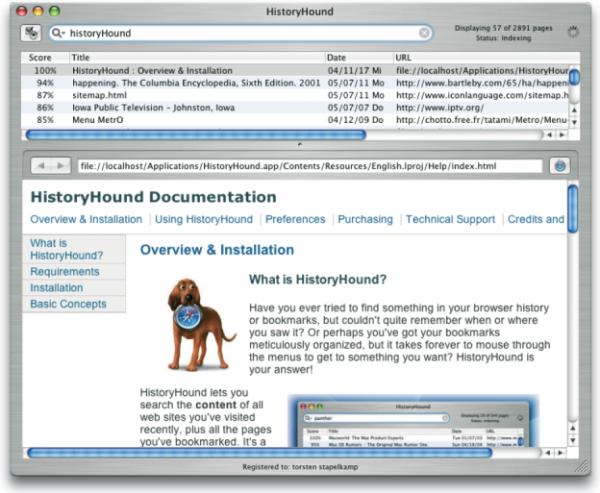 Hunden wird nicht in allen Kulturen gleich viel Vertrauen entgegengebracht, weshalb sich die Software History-Hound (www.stclairsoft.com) auf Grund ihres Logos nicht in jedem Kulturraum gleich gut verkaufen ließe. Die Hundeabbildung stammt von www.cartoon-dogs.com.