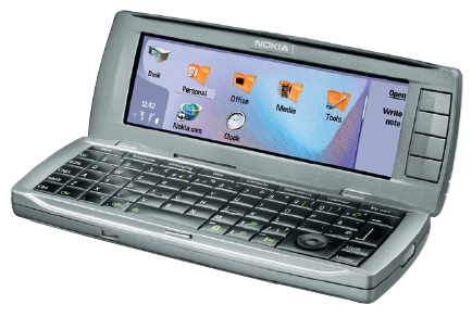 Nokia 9500 Communicator (www.nokia.com).