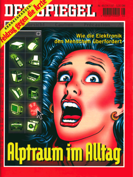 Spiegel-Titelblatt vom 24.11.1997.
