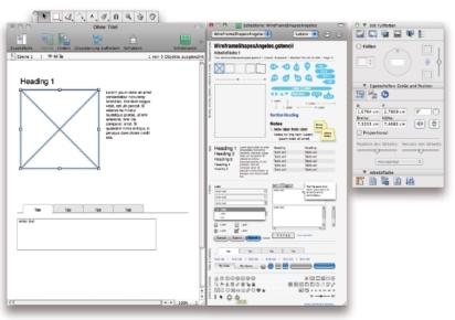 Funktionslayout – Wireframe – Basis für Software- und Website-Entwicklung