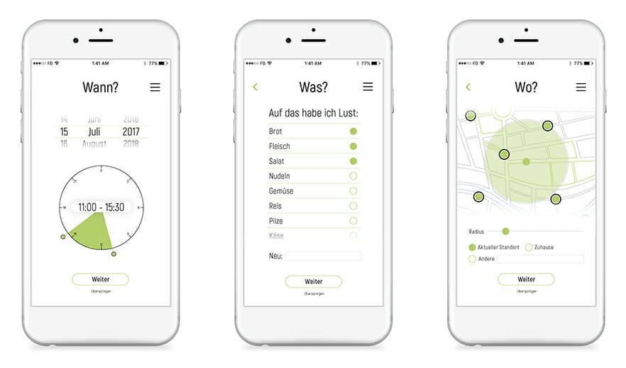 n'eat, ein Service Design App Projekt von Niklas Köhnlechner