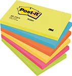 Post-it® 655TFEN Haftnotiz Rainbow Notes