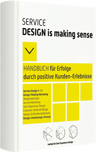 Service Design is making sense eBook Titelseite