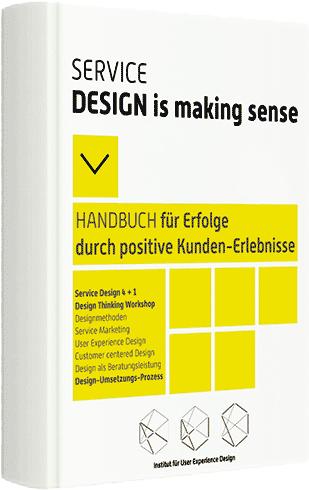 Service Design is making sense eBook Titelseite