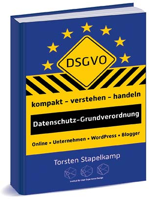 """Buch """"DSGVO – kompakt • verstehen • handeln"""" (Druck, Amazon Kindle-Mobi) – Datenschutz-Grundverordnung"""