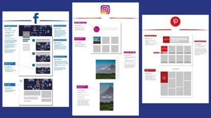 Was sind die Bildergrößen für Facebook, Instagram, Twitter, Pinterest und Co.?